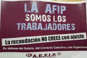 AFIP-PARO DE TRABAJADORES