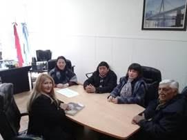 Reunión  de los representantes provinciales de UATRE y OSPRERA.