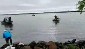 Isla Apipé, incidente con la Armada Paraguaya