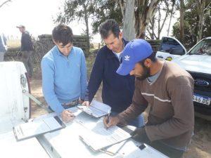 RENATRE fiscaliza establecimientos rurales en Córdoba.