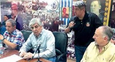 Moyano H. Sec. Gral. Camioneros
