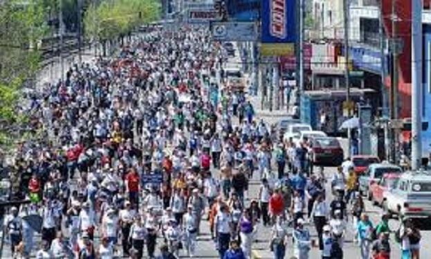 Trabajadores Marchando.
