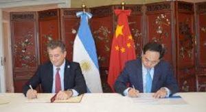 Firma de acuerdo entre Argentina y China