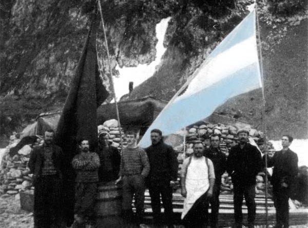 Expedición del Alférez Sobral en la Base Orcadas 1904