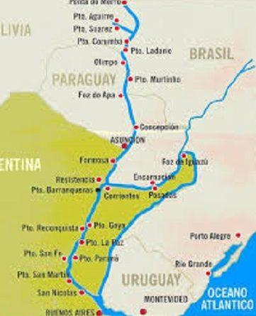 Hidrovía Paraguay-Paraná,