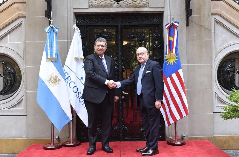 Los Ministros discutieron temas de interés común de las agendas bilateral, regional y multilateral