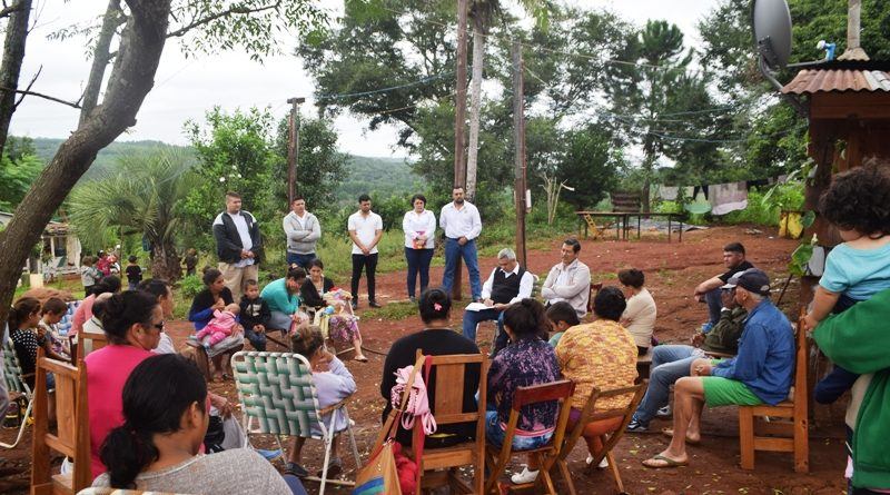 Huertas Comunitarias en paraje el yaza