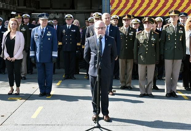 Jorge Faurie presidió el acto de cierre de la Campaña Antártica