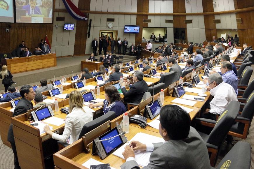 Cámara de Diputados del PY. Sesión de Legisladores
