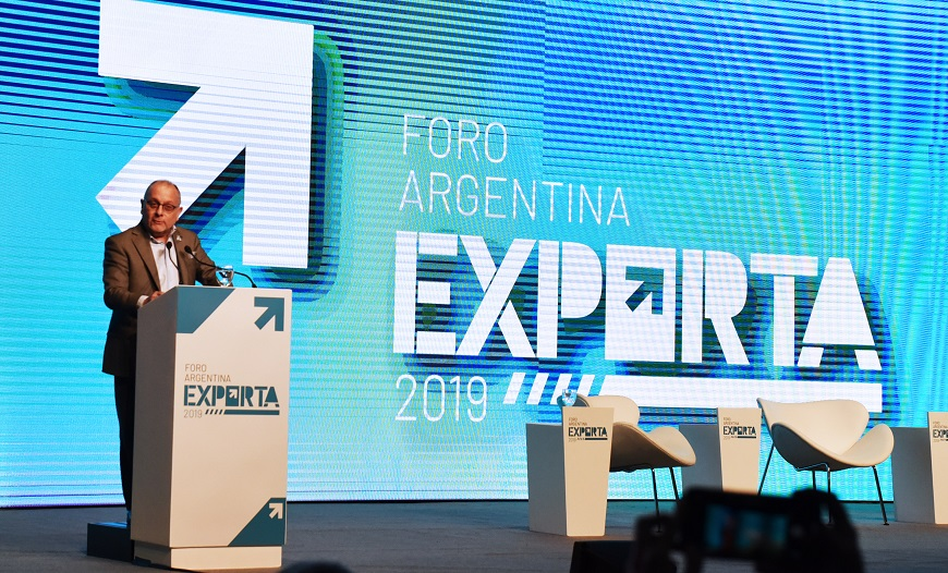 J.Faurie Foro Argentina exporta 2019