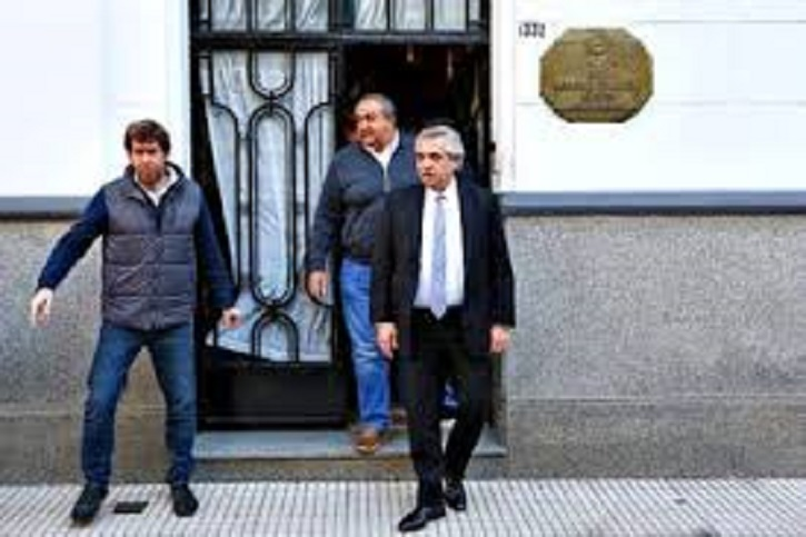 Alberto Fernández en UPCN