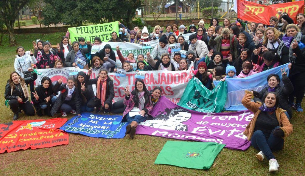 Cierre del Encuentro Provincial de Mujeres FPAyS