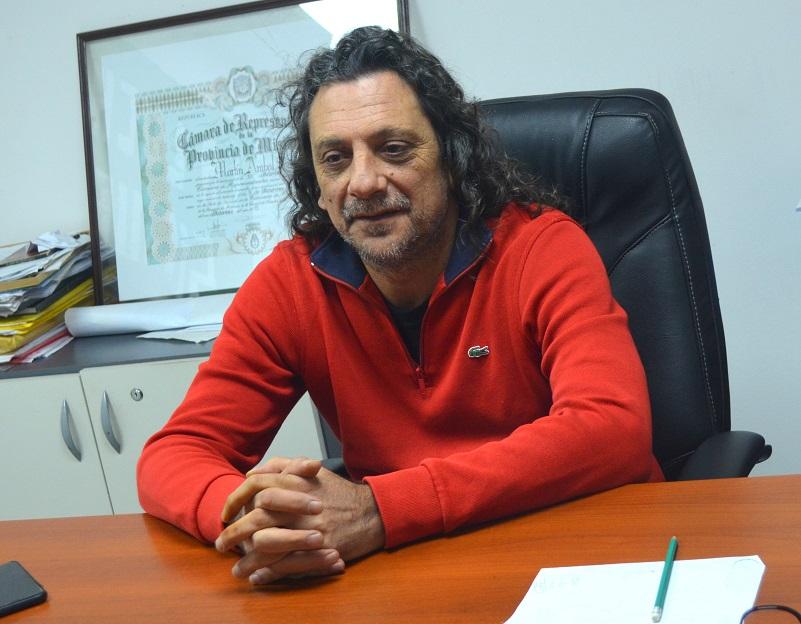 Diputado electo Martín Sereno
