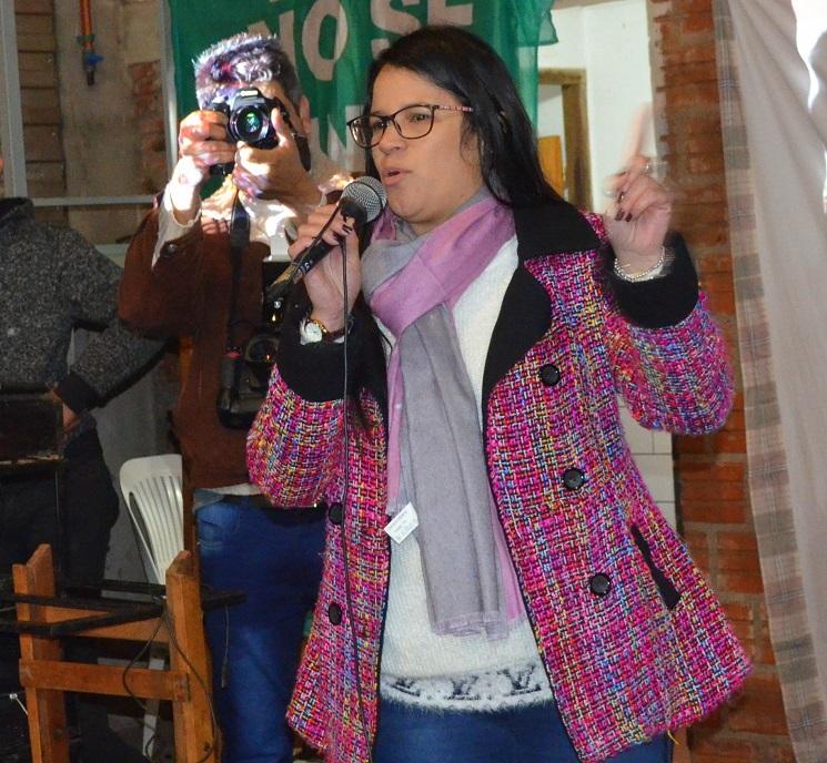 Clelia Carballo, concejal de San Vicente