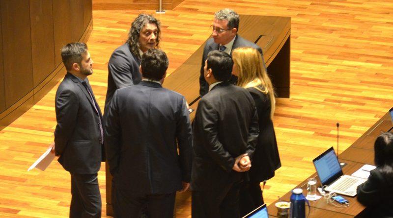 Diputados en el recinto de la Cámara de Diputados