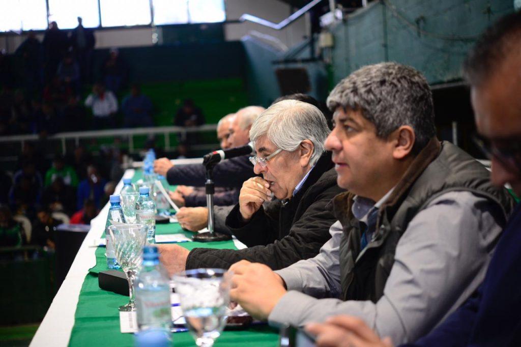 Sec. Grales. representantes de todo el país Camioneros en Ferro