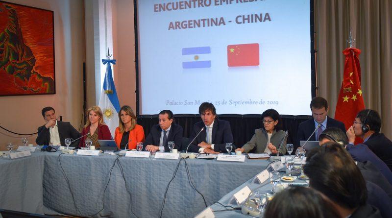 Encuentro de Diálogo Empresarial Argentina-China en el Palacio San Martín
