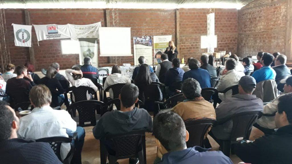 Participaron 42 personas, productores, trabajadores rurales y estudiantes Universitarios