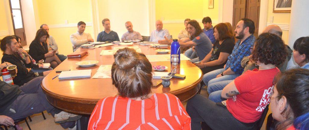 Reunión Casa de Gobierno con Ejecutivo y organizaciones sociale