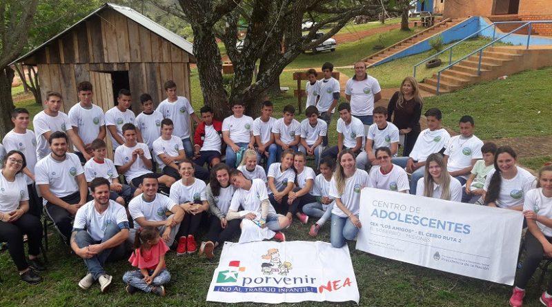 Jornada de contención y formación para jóvenes de zonas rurales