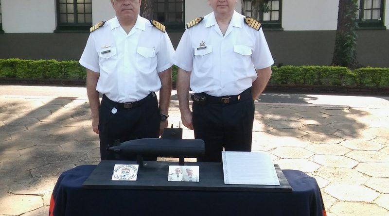 Capitán de Fragata Francisco Pellegrino - Capitán de Navío Héctor Alfonso