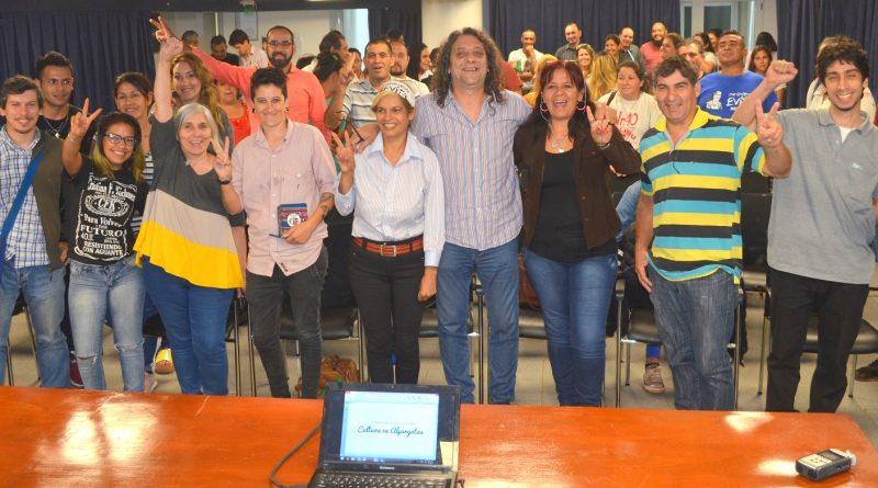 Encuentro Provincial Sobre la Propuesta Cultura en Alpargatas del FPAyS