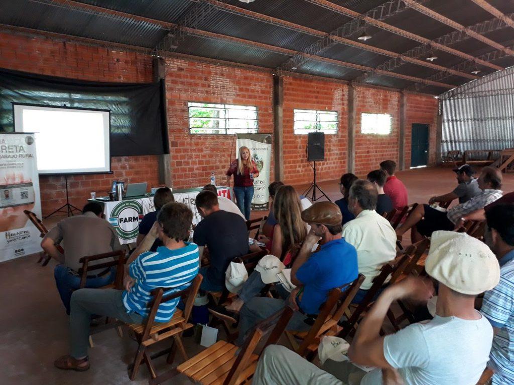 Jornada de Capacitación Sobre Nutrición Animal en la Localidad de Montecarlo