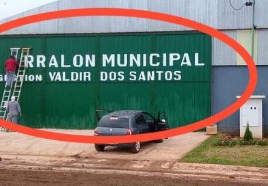 Ordenanza sancionada estableció la prohibición de que jefes comunales, o autoridades provinciales o nacionales coloquen o impriman sus nombres sobre los bienes públicos