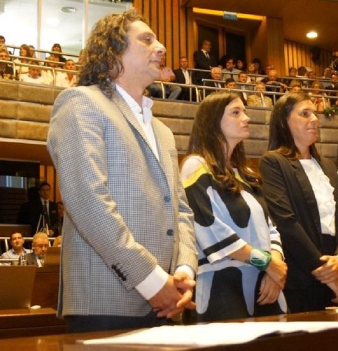 Jura del Diputado reelecto, Martín Sereno (PAyS)