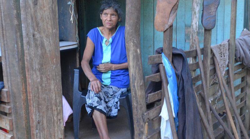María Morel mujer discapacitada de Santo Pipó