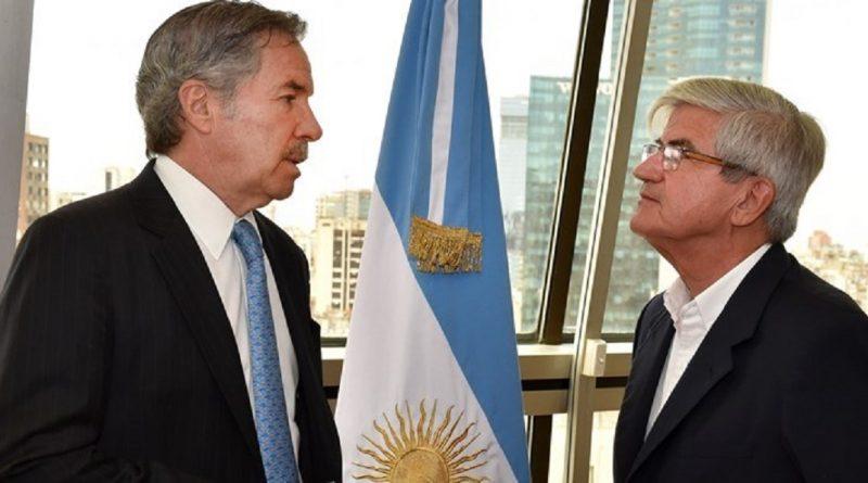 Canciller Felipe Solá-Embajador Alberto Iribarne