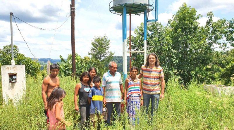 Familias de la aldea Chafariz que reclaman por el agua para sobrevivir