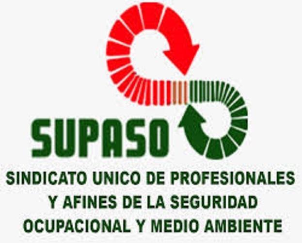 LOGO-Sindicato Único de Profesionales y Afines de la Seguridad Ocupacional y Medio Ambiente (SUPASO).