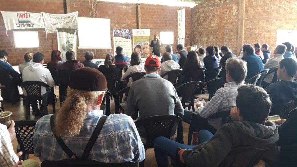 La delegación RENATRE Misiones continúa con la formación y capacitación de las familias rurales