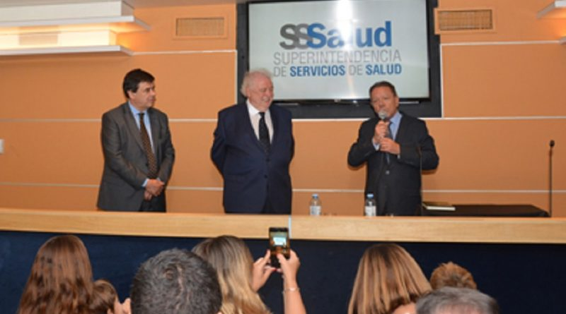 Superintendente de Servicios de Salud, Lic. Eugenio Zanarini.