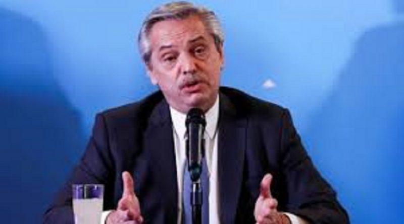 Alberto Fernández Pte. de la República Argentina