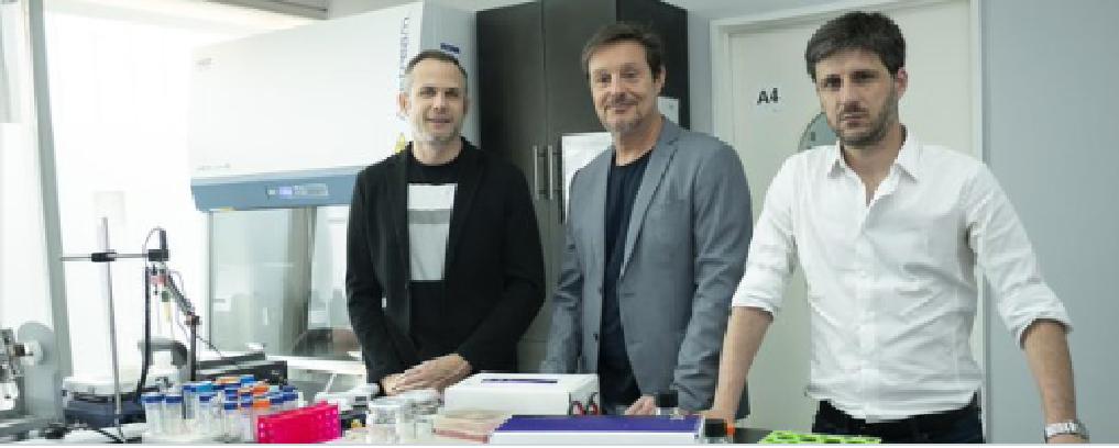 Científicos del IBUNSAM - Juan Ugalde, Diego Comerci y Andrés Ciocchini