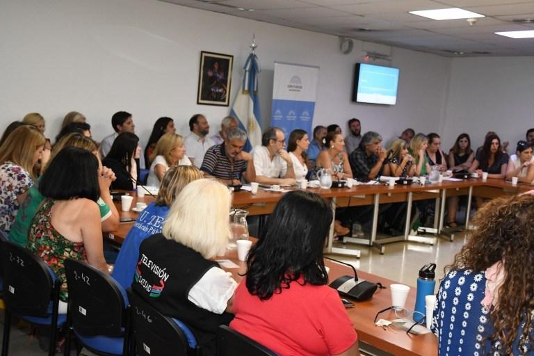 Comisión del Congreso de la Nación y la Red Nacional Intersindical Contra la Violencia Laboral