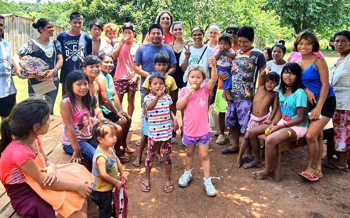Guaraníes de las aldeas Yvoty Okara y Mainomby reclaman que el Estado se ocupe de las familias