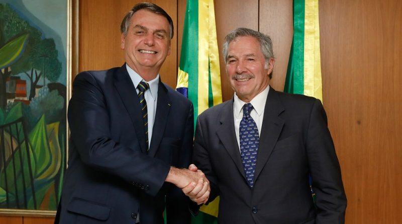Presidente Jair Bolsonaro , el Canciller Felipe Solá
