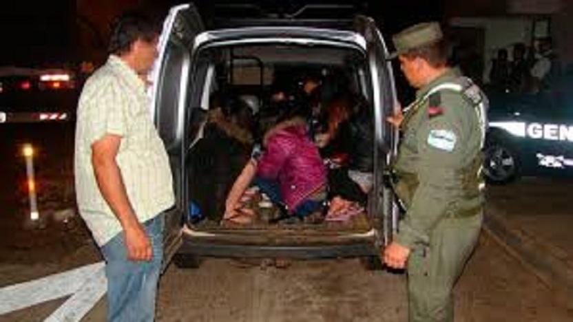 Transporte Ilegal de Tareferos y Trabajadores Rurales