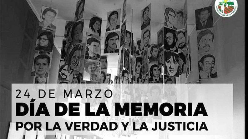 El PAyS pide crear por Ley un espacio de Memoria, Verdad y Justicia en Misiones