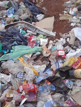 En la emergencia sanitaria familias de Santo Pipó reclaman no vivir entre la basura