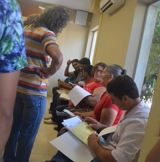 Familias de Andresito se registraron en el padrón del Iprodha para evitar desalojos