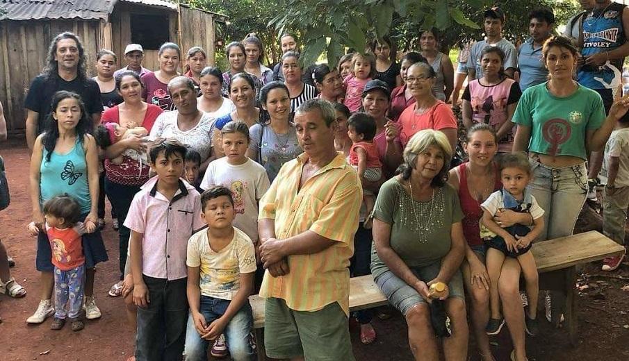 Familias de Colonia Gisela reclaman con urgencia el agua potable (Foto tomada antes de la cuarentena)