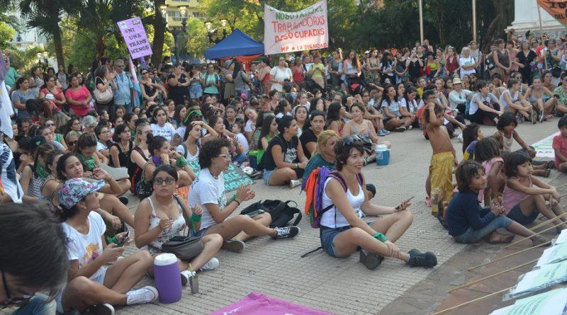 Movilización del Cuarto Paro Internacional de Mujeres y Disidencias Trabajadoras