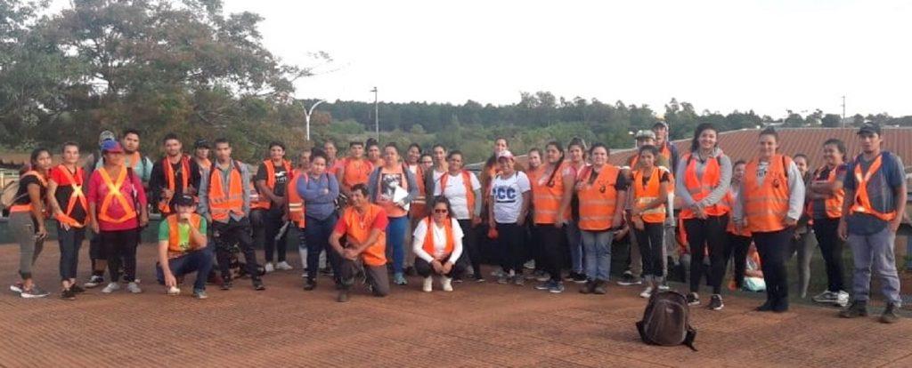 Organizaciones sociales trabajando en los barrios contra el dengue