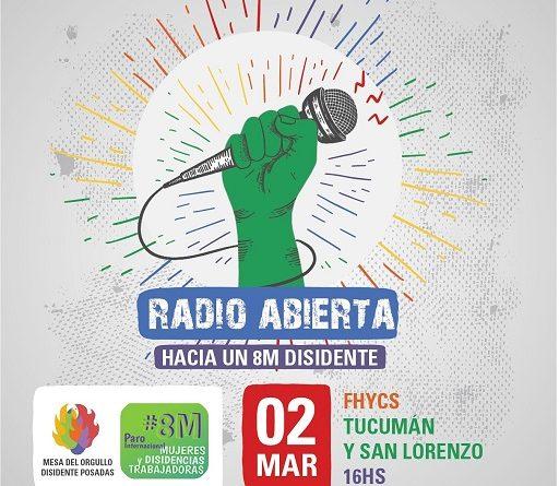 Radio Abierta Hacia el 8M