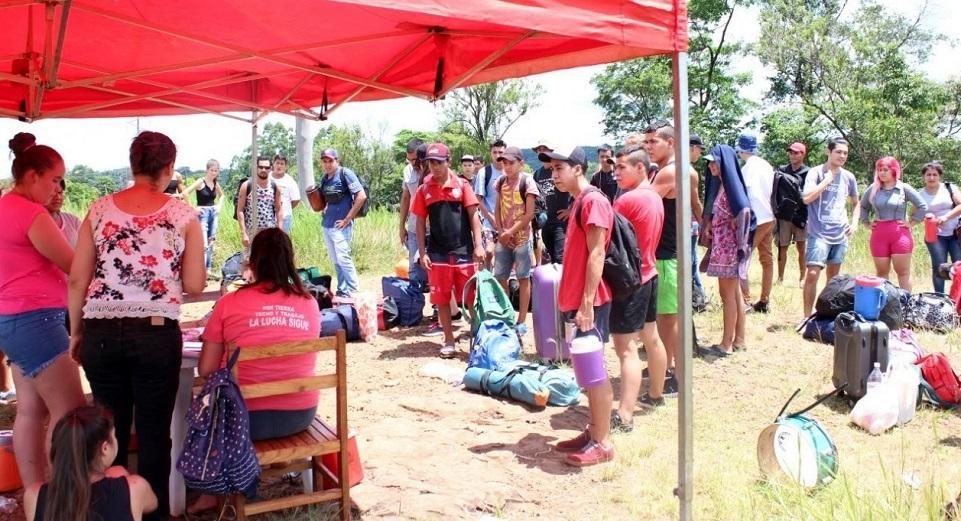 Se realizó el Segundo Campamento Provincial de la Juventud en Piñalito Sur