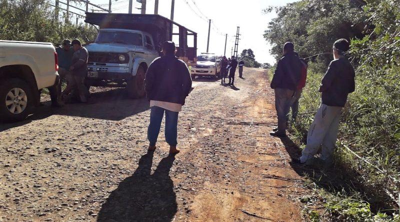 Camión secuestrado Apóstoles